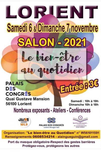 Salon Bien-être Lorient Nov 2021